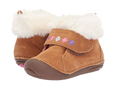 Stride Rite Soft Motion Sophie (Infant/Toddler) (Brown Suede) Girls Shoes