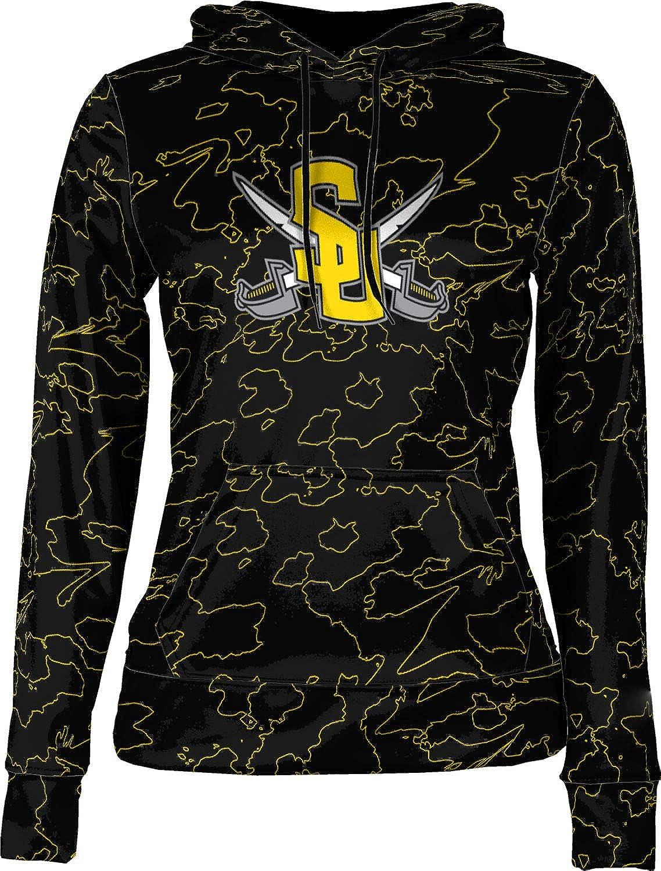 ProSphere Southwestern University College Girls' Pullover Hoodie, School Spirit Sweatshirt (Topography)