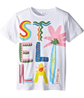Stella McCartney Kids - Multicolor Stella Short Sleeve Tee Early (Toddler/Little Kids/Big Kids)