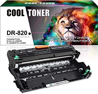 Cool Toner Compatible Drum Unit Replacement for Brother DR820 DR-820 Drum for Brother HL-L6200DW MFC-L5900DW HLL6200DW HL-L6200DWT HL-L5100DN HL-L5200DW MFC L5850DW L6800DW Business Laser Printer-1PK