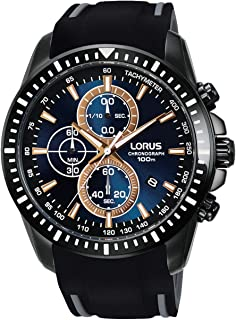 Lorus Casual Watch For Men - Rubber, Analog, RM353DX9