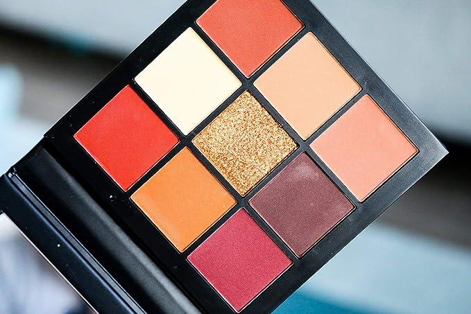 Amazon.com : Huda Beauty Obsessions Eye Shadow Palettes, Warm