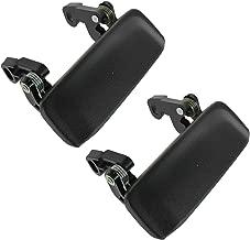 Metal Door Handles Black Textured Front Left & Right Pair Set Kit for Ranger