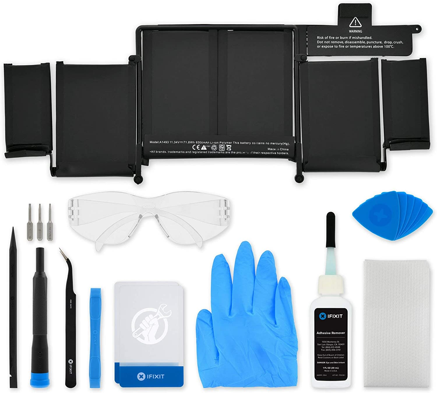 iFixit Battery Compatible with MacBook Pro 13