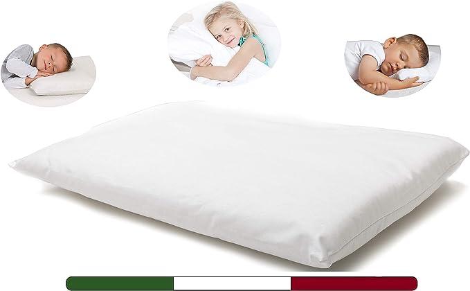 79 opinioni per Cuscino Culla Neonato (Made in Italy e OEKO-TEX)- Cuscino per Bambini- Cuscino
