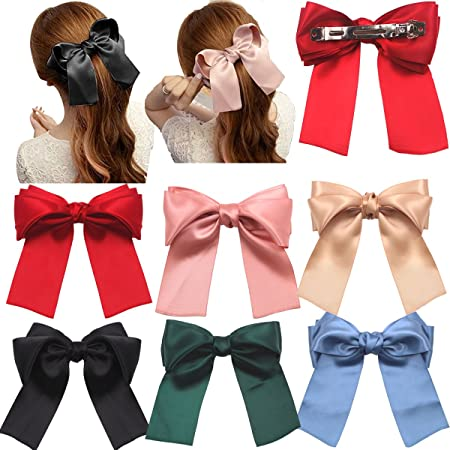 Everyday Hair Bows back to school hair bows Large Boutique Hair Bow Large boutique hair bows Leopard hair bow Organza Hair bows