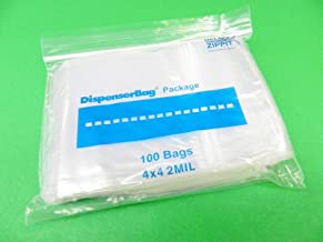 6x12 Ziplock Bags Clear Reclosable 2mil Poly Bags Resealable 100 Pc Reloc 6X12 1.2FRE