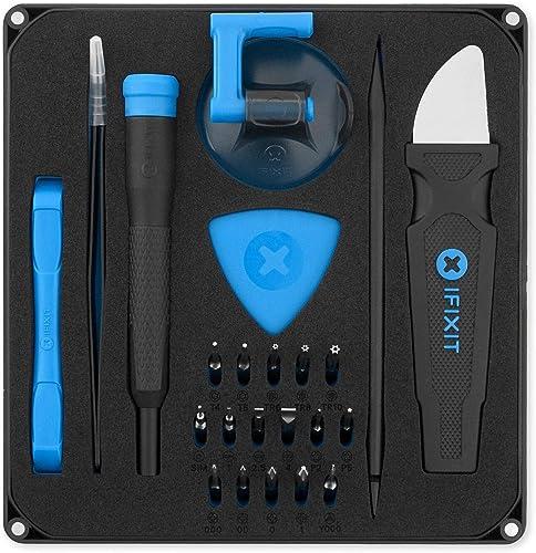 iFixit Essential Electronics Toolkit, ensemble d'outils de base avec tournevis, 16 embouts (4 mm) & outils d'ouvertur...