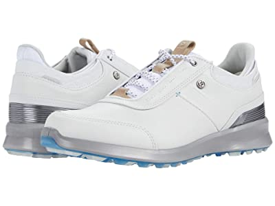 FootJoy Stratos Spikeless Luxury Casual (Off-White) Women