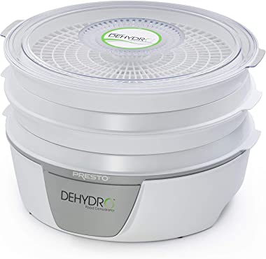 Presto 06300 Dehydro Deshidratador eléctrico de alimentos, estándar