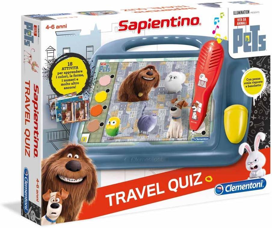 Clementoni Travel Quiz - Juego de Viaje (versión Italiana ...