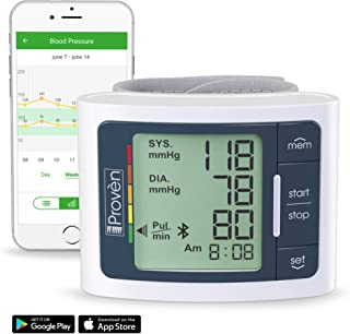 Best FDA Blood Pressure Monitor Wrist with Bluetooth - BPM-337BT-B Full Automatic