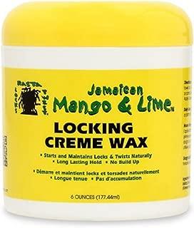 Jamaican Mango & Lime Locking Creme Wax, 6 oz (Pack of 4)