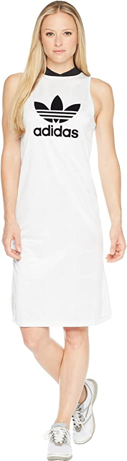 adidas Originals Fashion League Jacquard Tank Dress