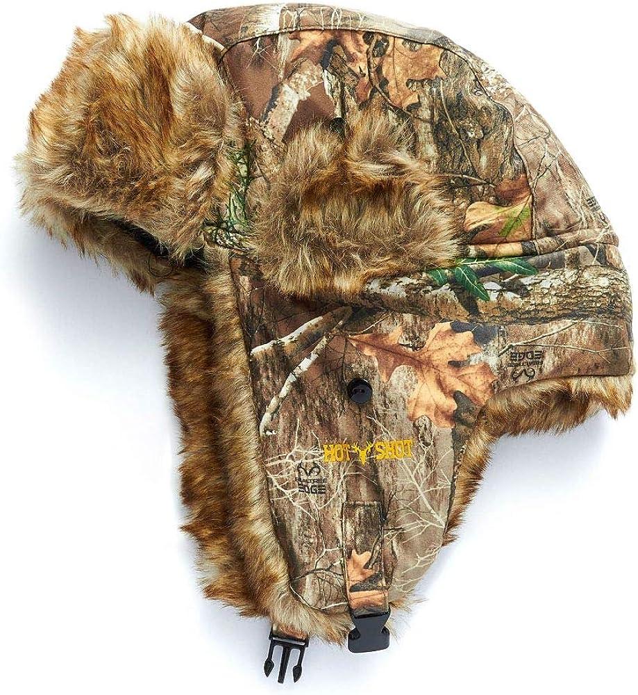 HOT SHOT Limited time cheap sale Men's Camo Sabre Realtree – Edge SALENEW very popular! Trapper Hat