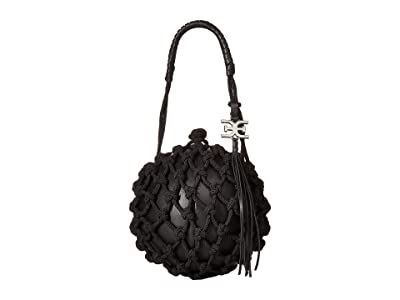 Sam Edelman Robyn Caged Ball (Black) Handbags