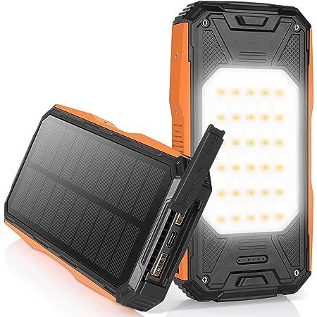 Nexgadget Solar Powerbank 26800mah Externer Akku Mit Elektronik