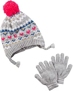 OshKosh Bgosh Little Girls Fleece Hat 2T//4T Express Your Elfie
