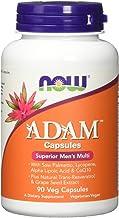 Now Foods Adam Men Superior Multi Multivitamine Für den Mann Vegetarisch Glutenfrei, 90 Kapseln