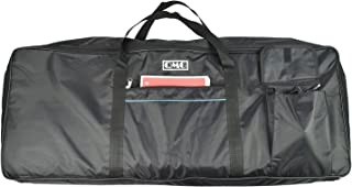 "Electric Piano Portable Padded Gig Bag/Case for 61 Key Keyboard with Extra Large Pockets, Made of Nylon, Color: Black, Size 40"" x16"" x 5"""