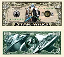 Set of 50 - Limited Edition Star Wars Collectible Million Dollar Bill