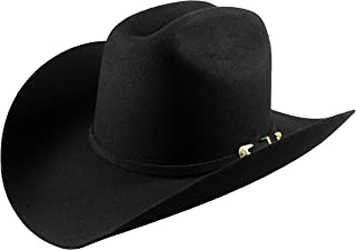 El General Men's Cowboy Hat Texana 100X Horma Julion Color Black Wool