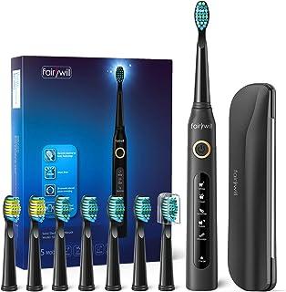 comprar comparacion Cepillo de dientes eléctricos, 4 Horas de Recarga la Duración es de 30 Días,Cepillo de Dientes de Viaje con Bolso de Viaje...