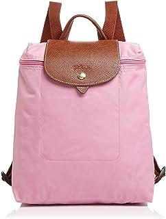 Longchamp Le Pliage Ladies Medium Pink Nylon Backpack L1699089P03