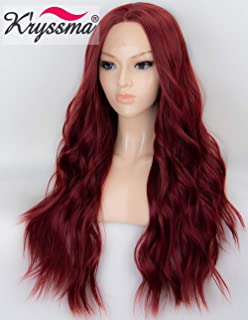 Best burgundy synthetic lace wig Reviews