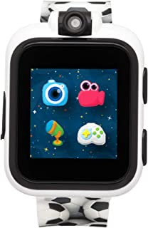 iTouch Playzoom Kids Smart Watch with Swivel Camera, Photo Filters, Video Recorder, Stopwatch, Calendar, Sound Animations, Educational and Active Games (Soccer)