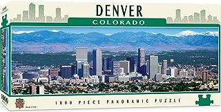 MasterPieces Cityscapes Panoramic Jigsaw Puzzle, Downtown Denver, Colorado, Photographs by Stephen Gjevre, 1000 Pieces