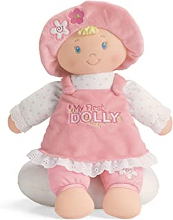 GUND My First Dolly Stuffed Plush Blonde Doll, 12""