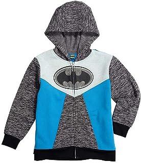 71a0faf0884d DC Comics Batman Little Boys Fleece Zip Up Cape Hoodie