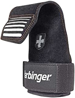 featured product Harbinger Lifting Grips, Black