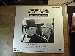 Laser Disc, Laserdisc of The Devil And Daniel Webster From The Janus Collection, with Edward Arnold and Walter Huston.