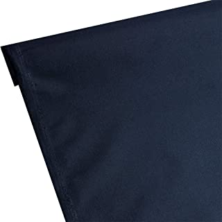 Waterproof Canvas Fabric Outdoor 600 Denier Indoor/Outdoor Fabric by the yard PU Backing UV Protector Canvas Marine Awninig Fabric NAVY BLUE