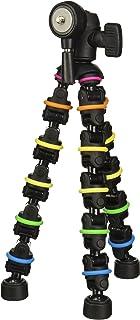 Polaroid Snap and Wrap Flexi Color Tripod with 360° Rotating Ball Head - Flexible Vertebrae-Like Legs & Rubberized Feet fo...