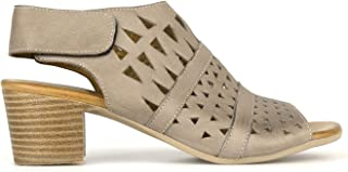 Airflex Delicious Womens Leather Casual Taupe 5