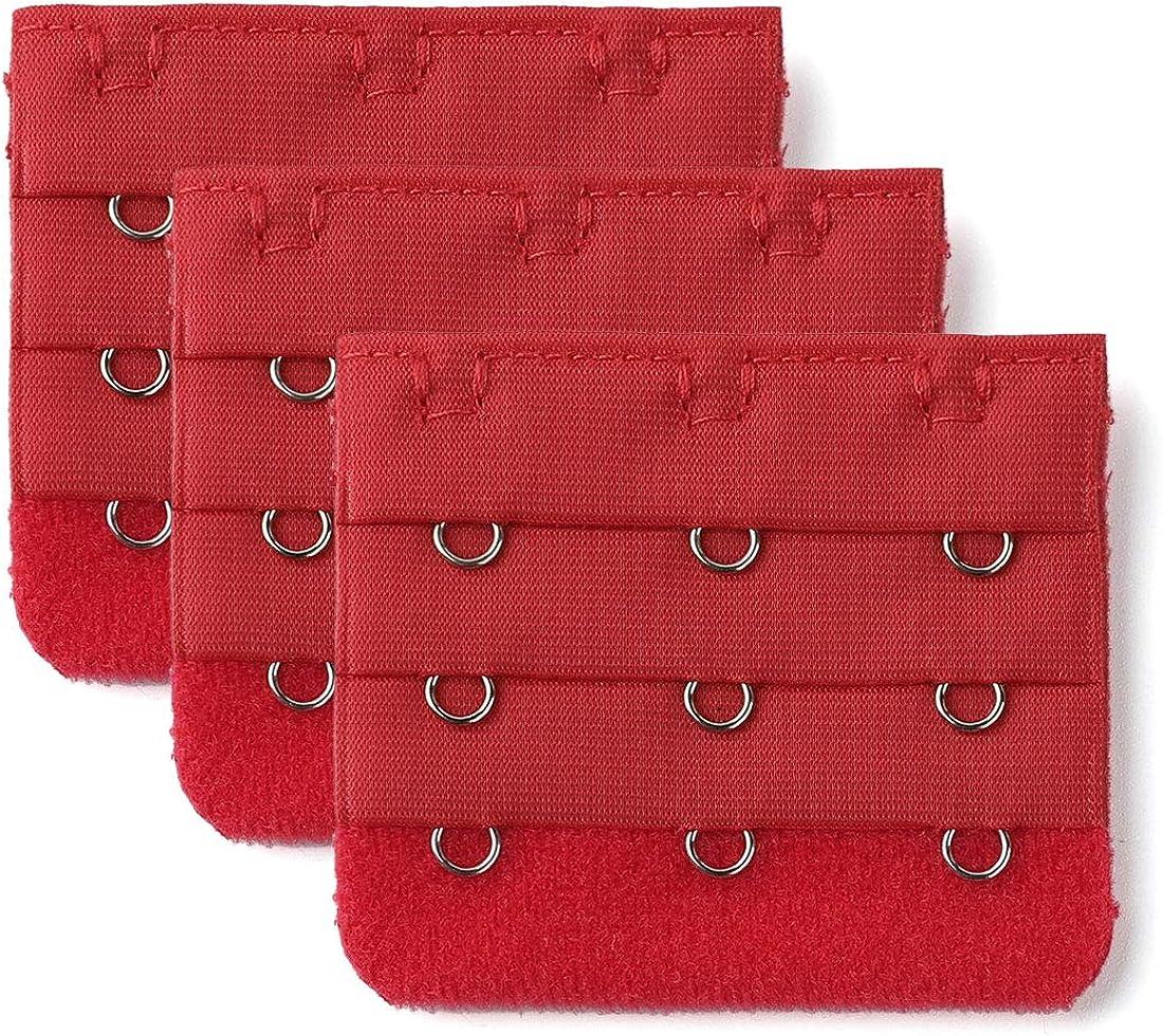 Allegra K Discount mail order Brassiere Bra 3 x Strap Inventory cleanup selling sale Ex Hooks Extension Underwear