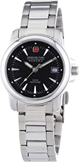 Swiss Military Hanowa - 06-7230.04.007 - Reloj de Pulsera Mujer, Acero Inoxidable, Color Plateado