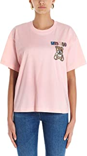 Moschino Luxury Fashion Womens A071005401242 Pink T-Shirt  