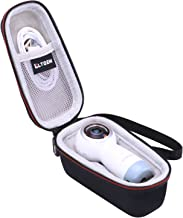LTGEM EVA Hard Case for Samsung Gear 360 SM-R210 (2017 Edition) Spherical Cam 360 Degree 4K Camera - Travel Protective Carrying Storage Bag