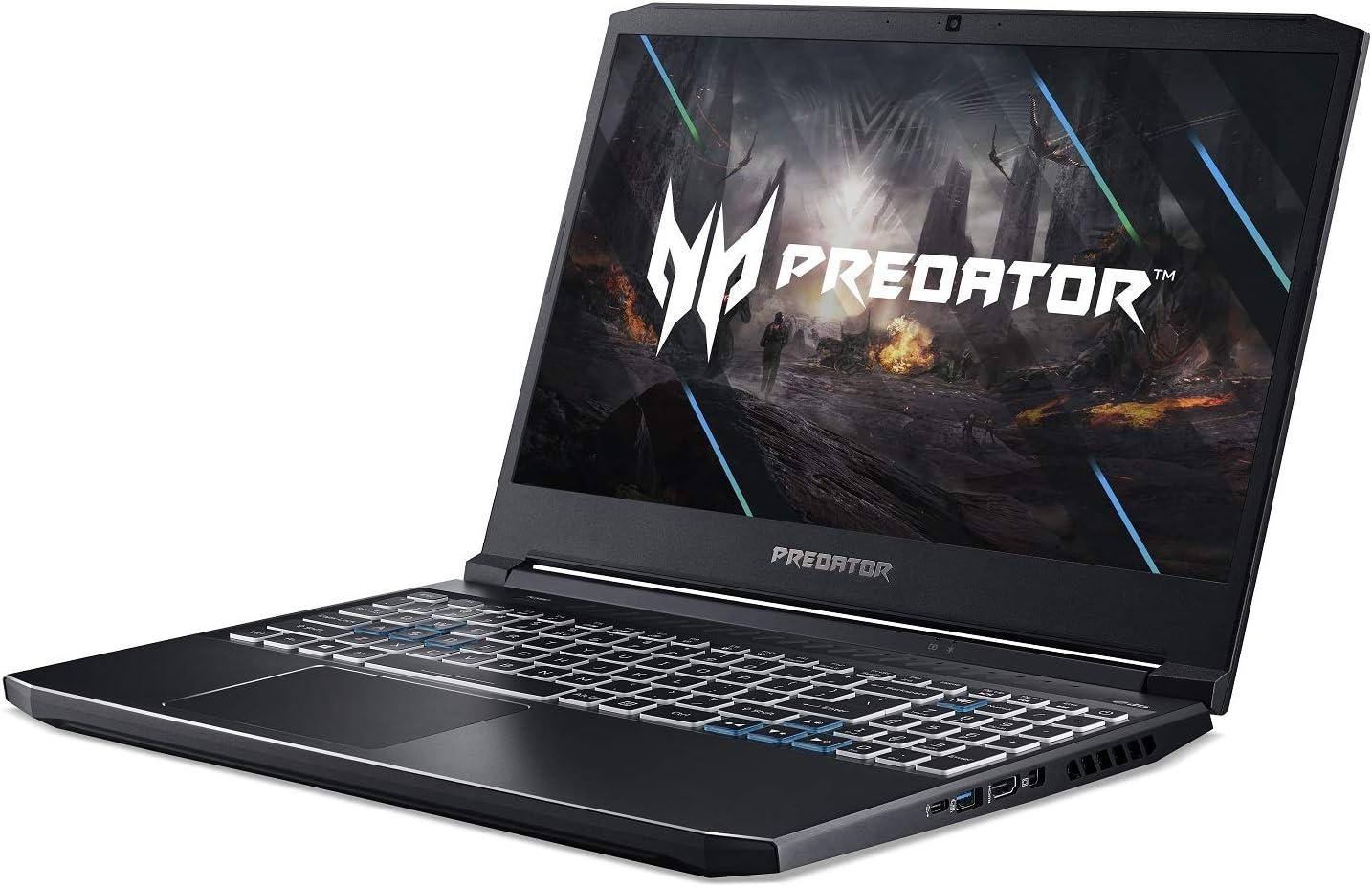 PH315-53-72XD Acer Predator Helios 300 Gaming Laptop 15.6 Full HD 144Hz 3ms IPS Display RGB Keyboard 512GB NVMe SSD Intel i7-10750H Wi-Fi 6 16GB Dual-Channel DDR4 NVIDIA GeForce RTX 2060 6GB