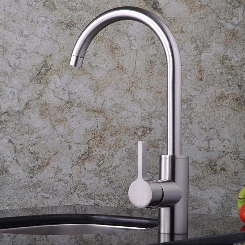 Gyps Faucet Waschtisch-Einhebelmischer Waschtischarmatur BadarmaturDas Kupfer Material Mischen von heiem und kaltem Wasser Windeisen, Multi-Faceted Rotierende Single Küche Wasserhahn