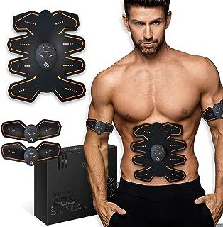 comprar comparacion Electroestimulador Muscular Abdominales - Estimulador Eléctrico Para Abdomen, Brazos, Piernas y Cintura, Cinturón Masajead...