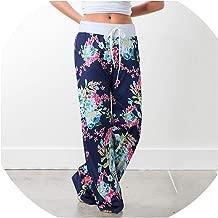 For What Reason Blocked Wide Leg Pants Women Summer 2018 Streetwear Elastic Casual Drawstring Long Trousers