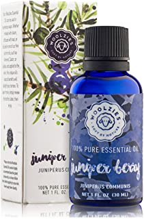 Woolzies Juniper Berry Essential Oil 1 Oz - , Natural Skin Toner, Cleanser, Detoxifying, Calming Effect - For Diffusion, T...