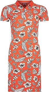 Tommy Hilfiger Women's 1M87640146-Orange Tommy Hilfiger TJW Blue Straight Dress for Women - Blue