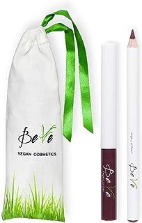 BeVe - Matita per labbra e lip stain vegan, rossetto a lunga durata