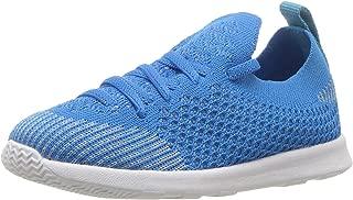 Native Shoes Baby AP Mercury Liteknit Child Sneaker, Wave Blue/Shell White, 7 Medium US Toddler